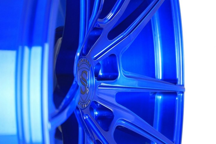 SV1 Deep Concave Monoblock - Brushed Blue 10
