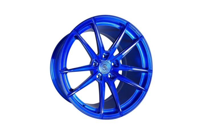 SV1 Deep Concave Monoblock - Brushed Blue 3