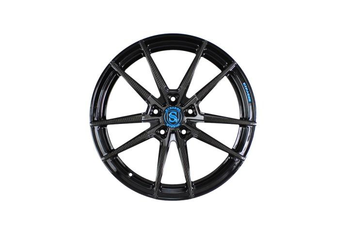SV1 Deep Concave Monoblock - Carbon & Miami Blue 1