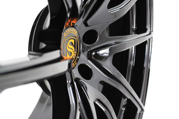 SV5 Deep Concave Monoblock - Gloss Black & Orange 3