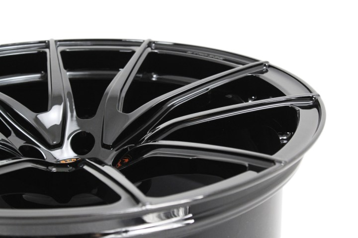 SV5 Deep Concave Monoblock - Gloss Black & Orange 4
