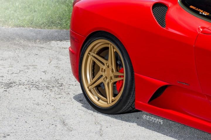 Ferrari 430 Scuderia - SV2T Deep Concave FS - Satin Gold 12