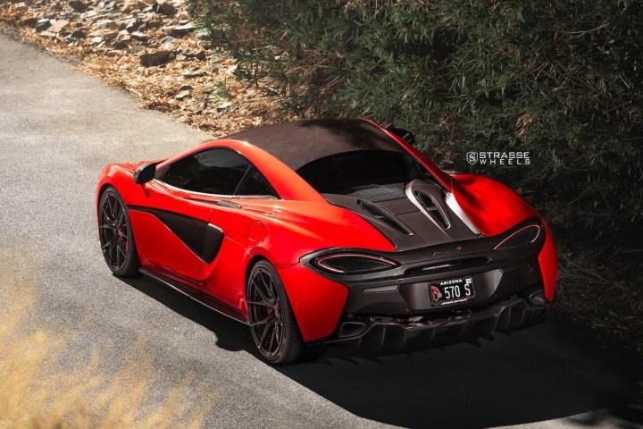McLaren 570S - 20:21 SM5R Deep Concave Monoblock 9