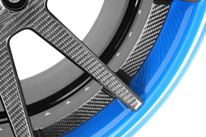 R10 Deep Concave - Carbon Fiber & Laguna Seca Blue 5