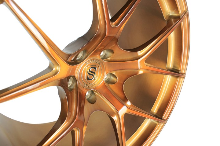 SM5R Deep Concave Monoblock - Gloss Brushed Bronze 3