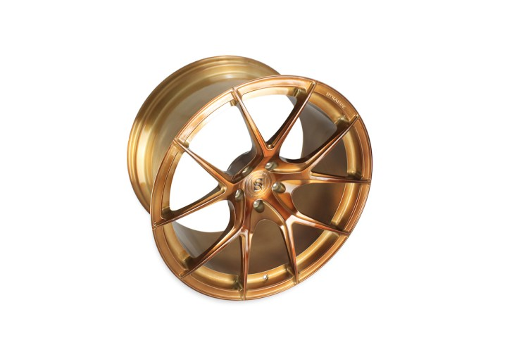 SM5R Deep Concave Monoblock - Gloss Brushed Bronze 5