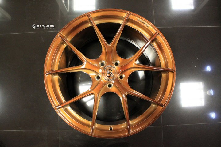SM5R Deep Concave Monoblock - Gloss Brushed Bronze 7