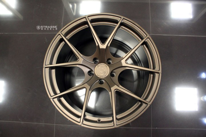 SM5R Deep Concave Monoblock - Matte Bronze 8