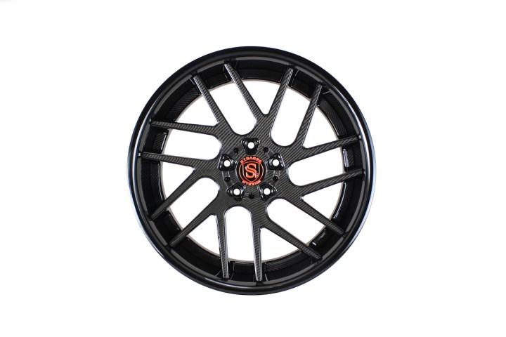 SM7T Deep Concave - Carbon Fiber & Gloss Black 1
