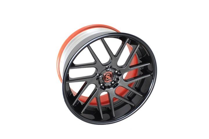 SM7T Deep Concave - Carbon Fiber & Gloss Black 4