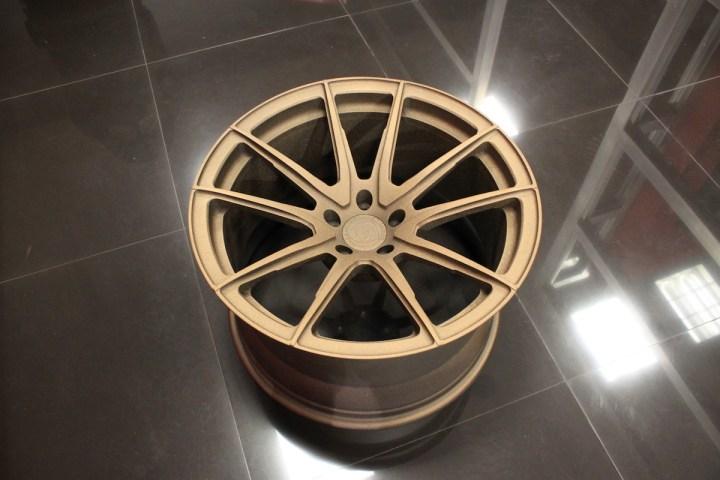 SV5 Deep Concave Monoblock - Matte Bronze 9