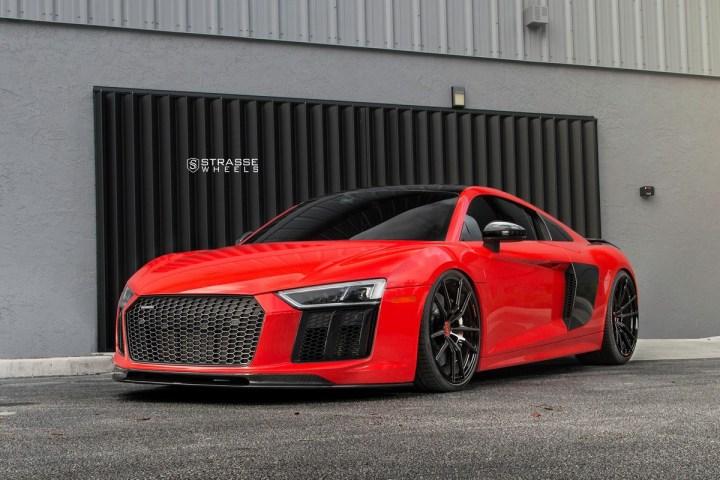 Audi R8 V10 Plus - 20:21 SV1 Deep Concave Monoblock - Carbon 1