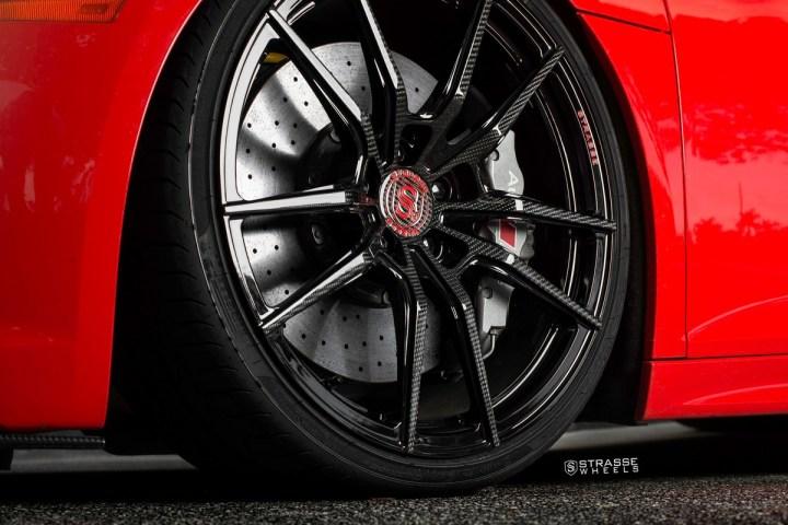 Audi R8 V10 Plus - 20:21 SV1 Deep Concave Monoblock - Carbon 12