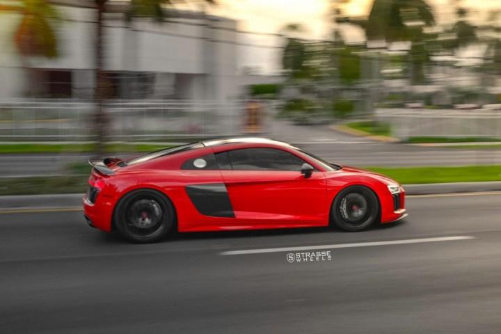 Audi R8 V10 Plus - 20:21 SV1 Deep Concave Monoblock - Carbon 14