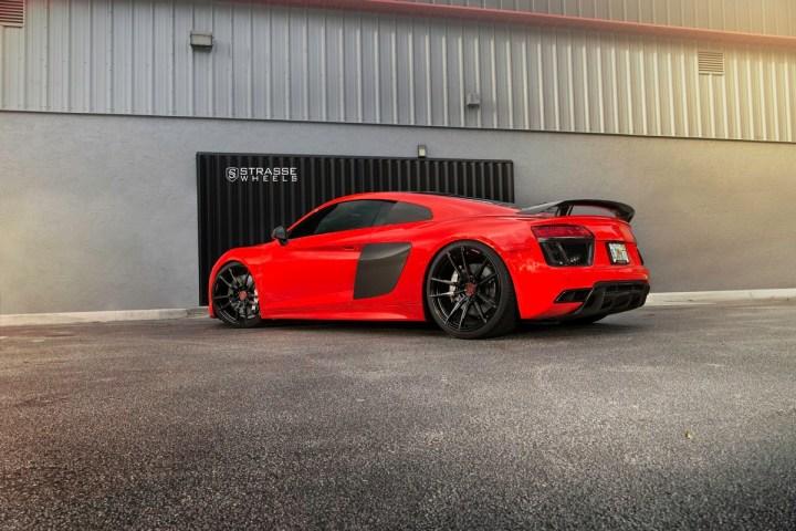 Audi R8 V10 Plus - 20:21 SV1 Deep Concave Monoblock - Carbon 20