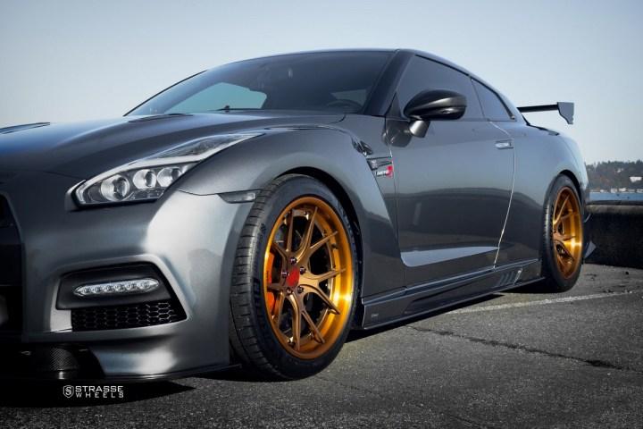 Nissan GT-R - SM5R Deep Concave FS - Ji 4