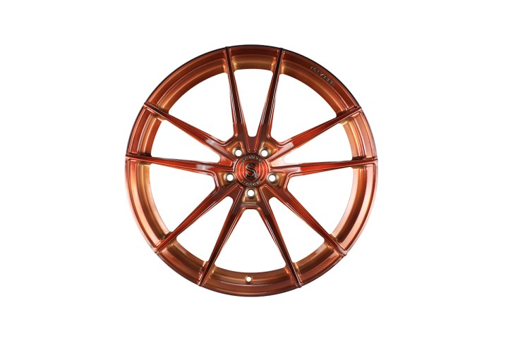 SV1 Deep Concave Monoblock - Gloss Brushed Copper 1