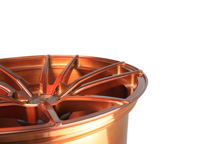 SV1 Deep Concave Monoblock - Gloss Brushed Copper 11
