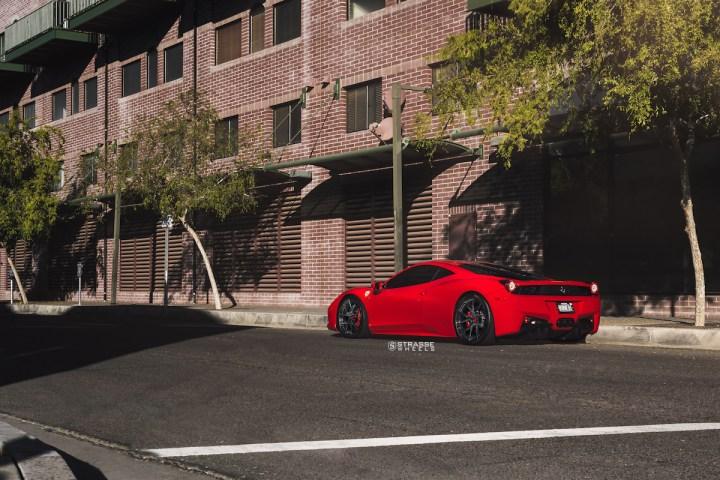 Ferrari 458 Italia - 20:21 SM5R Deep Concave Monoblock - Gloss Black - Vivid Racing 8