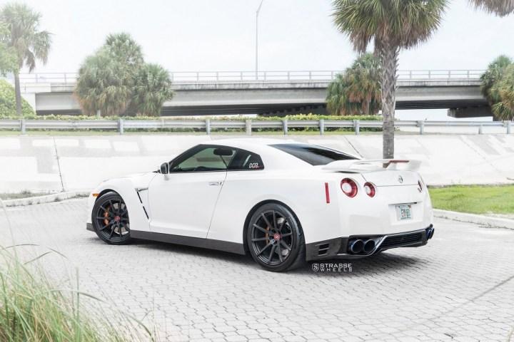 Nissan GT-R - 20_ R10 Deep Concave Monoblock - Matte Black - Tripp 8 2