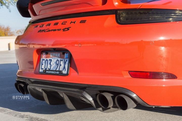 Porsche 991 Carrera 4S - CF SM7T Deep Concave 16