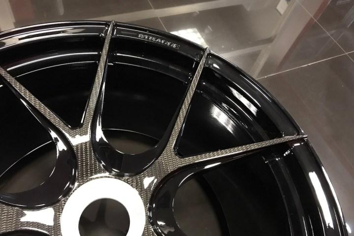 SM5R Deep Concave Monoblock - Centerlock - Carbon Fiber 12