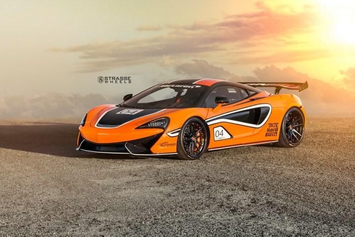McLaren 570S - 20:21 SV1 Deep Concave FS - Ventura Orange 1