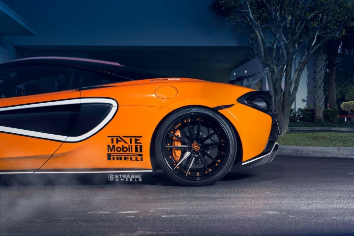 McLaren 570S - 20:21 SV1 Deep Concave FS - Ventura Orange 11