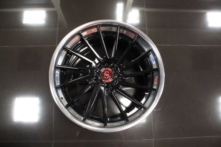 SV15T Deep Concave FS - Gloss Black & High Polish 10