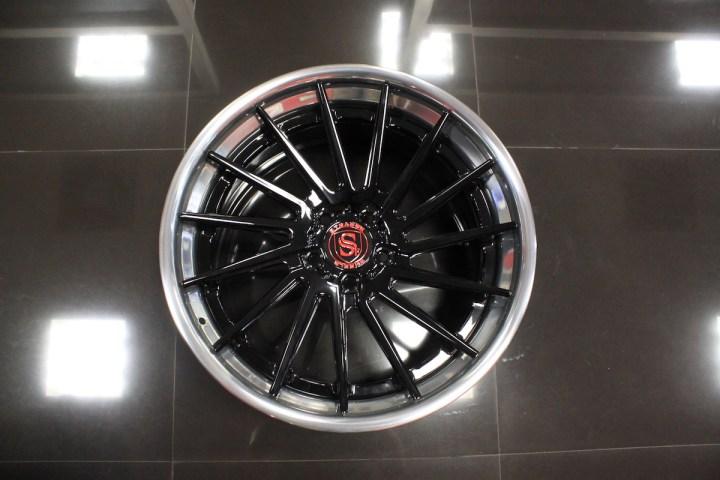 SV15T Deep Concave FS - Gloss Black & High Polish 10