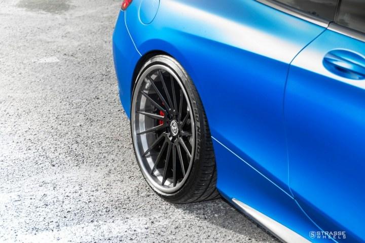 Mercedes Benz S63 AMG Coupe - SV15T Deep Concave FS - Carbon 6