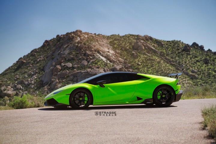 Lamborghini Huracan LP610-4 - 20:21 SM5R Deep Concave Monoblock - Verde Singh 1