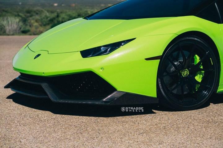 Lamborghini Huracan LP610-4 - 20:21 SM5R Deep Concave Monoblock - Verde Singh 2
