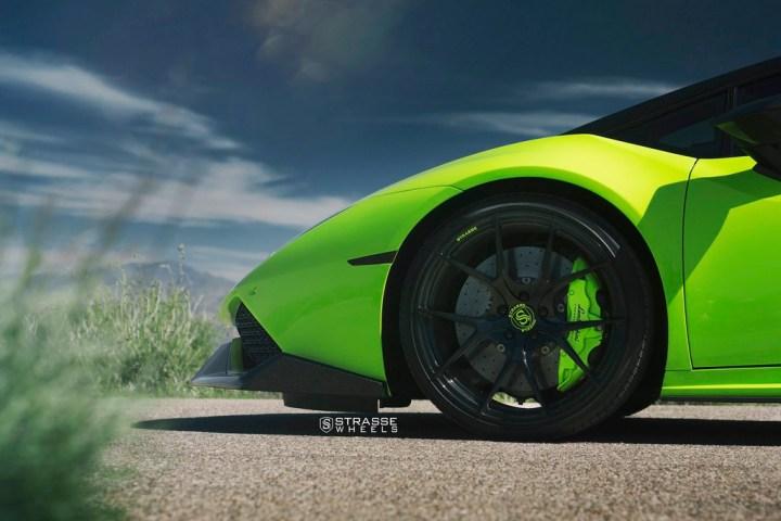 Lamborghini Huracan LP610-4 - 20:21 SM5R Deep Concave Monoblock - Verde Singh 3