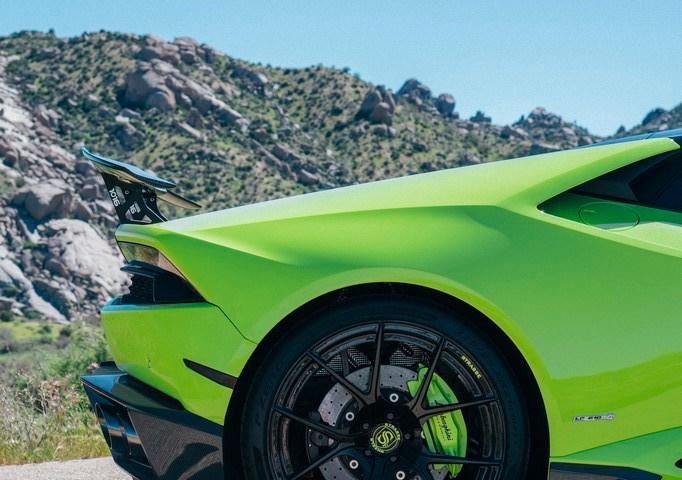 Lamborghini Huracan LP610-4 - 20:21 SM5R Deep Concave Monoblock - Verde Singh 5