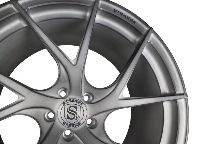 SM5RT Deep Concave Monoblock - Matte Brushed Titanium 2