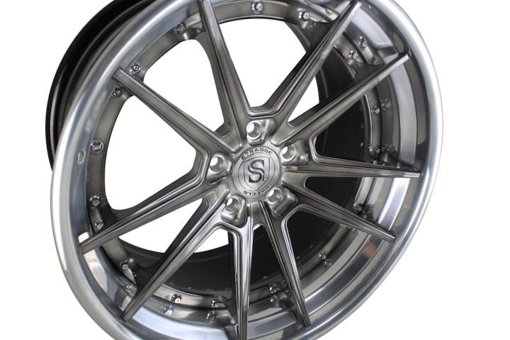 SV1 Deep Concave FS - Gloss Brushed Titanium & High Polish 3