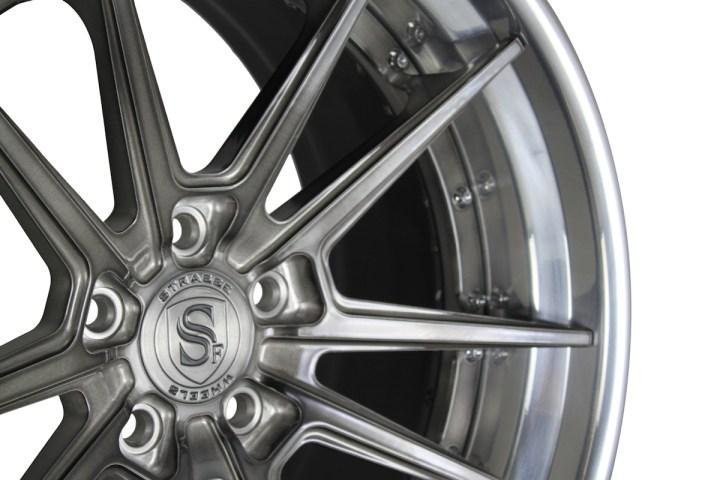 SV1 Deep Concave FS - Gloss Brushed Titanium & High Polish 5
