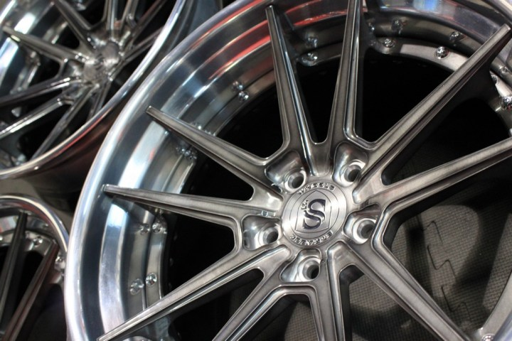 SV1 Deep Concave FS - Gloss Brushed Titanium & High Polish 9