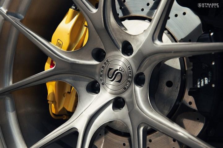 Audi R8 V10 Spyder - 20:21 SM5R Deep Concave Monoblock 5