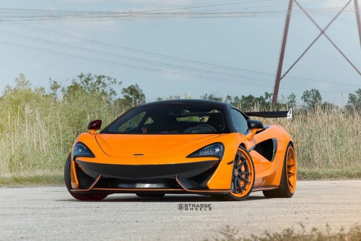 McLaren 570S - 20:21 SV1 Deep Concave FS - Orange 2