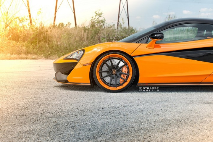 McLaren 570S - 20:21 SV1 Deep Concave FS - Orange 4