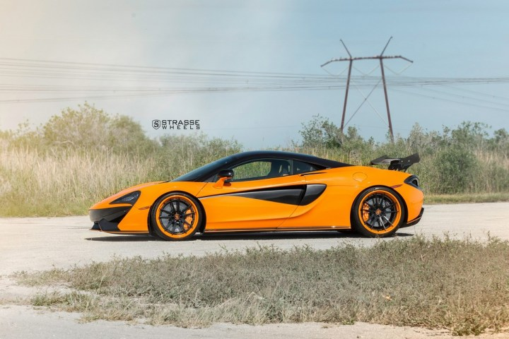 McLaren 570S - 20:21 SV1 Deep Concave FS - Orange 5