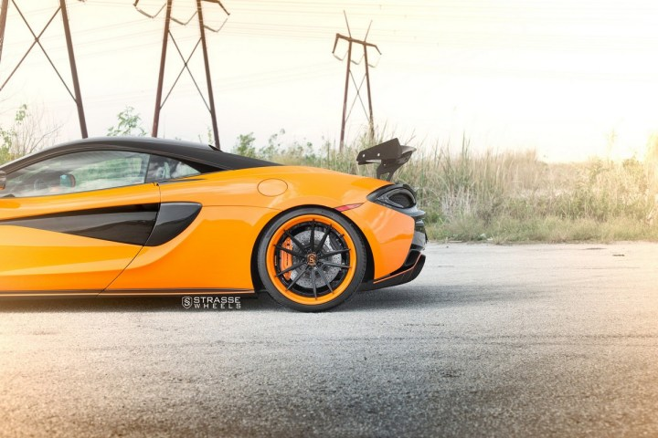 McLaren 570S - 20:21 SV1 Deep Concave FS - Orange 8