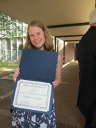 Our former Rice undergraduate Kate Snyder was awarded the Julian Huxley award (2012).
