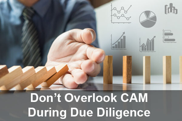 Don't Miss Items with Common Area Maintenance During Due Diligence
