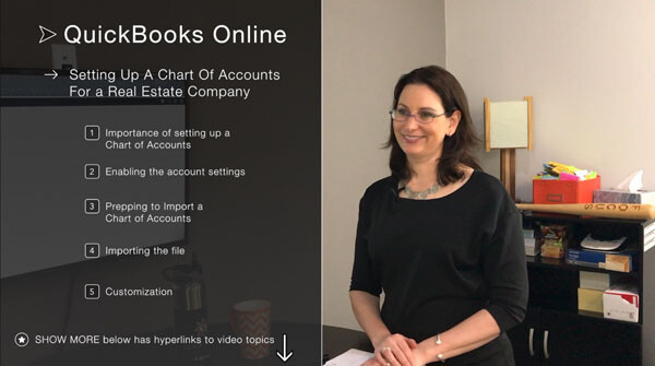 How to Set Up a Chart of Accounts for a Real Estate Company in QBO