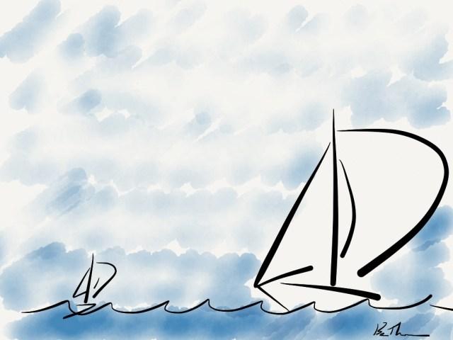 Sailboats, Ben Thompson