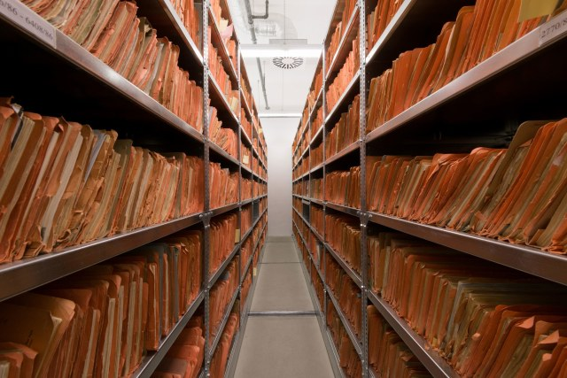 The Stasi's files