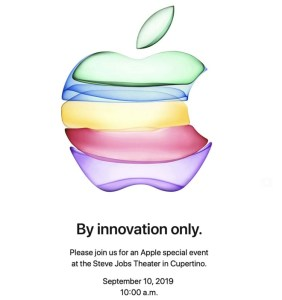 """Apple Event Invitation: """"By Innovation Only"""""""
